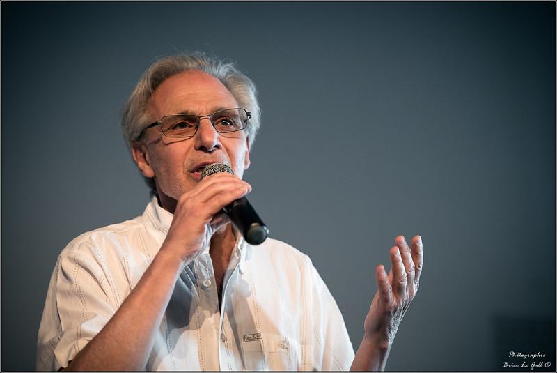 Pierre Khalfa (fondation Copernic) à l'occasion des 20 ans d'Attac. Paris, le 2 juin 2018.