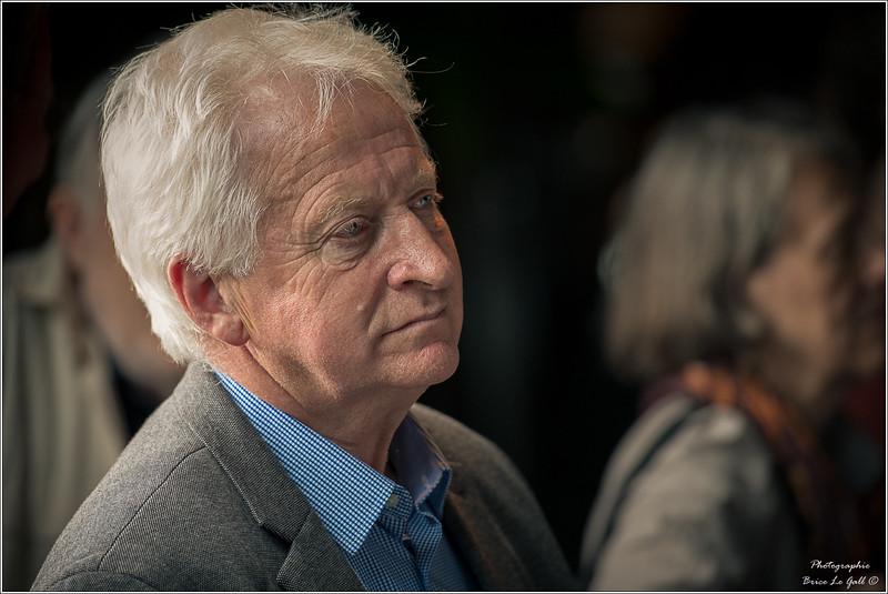 François Dufour (syndicaliste) à l'occasion des 20 ans d'Attac. Paris, le 2 juin 2018.