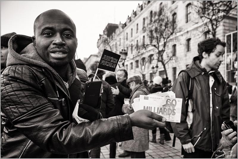 Procès Apple contre Attac. Paris, le 12 février 2018.