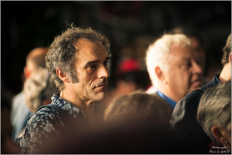 Marc Delpouve à l'occasion des 20 ans d'Attac. Paris, le 2 juin 2018.