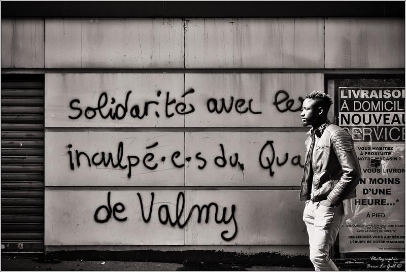 """Manifestation contre la loi travail dite """"XXL"""". Paris, 12 et 21 septembre 2017."""