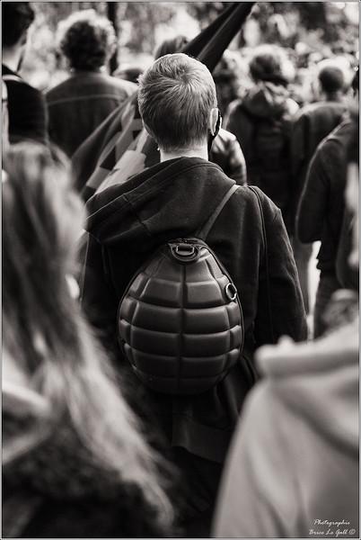 """Mobilisation contre la loi travail dite """"XXL"""". Paris, 2017."""