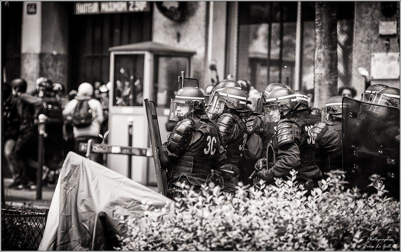 Mobilisation contre la loi El Khomri. Paris, 2016.