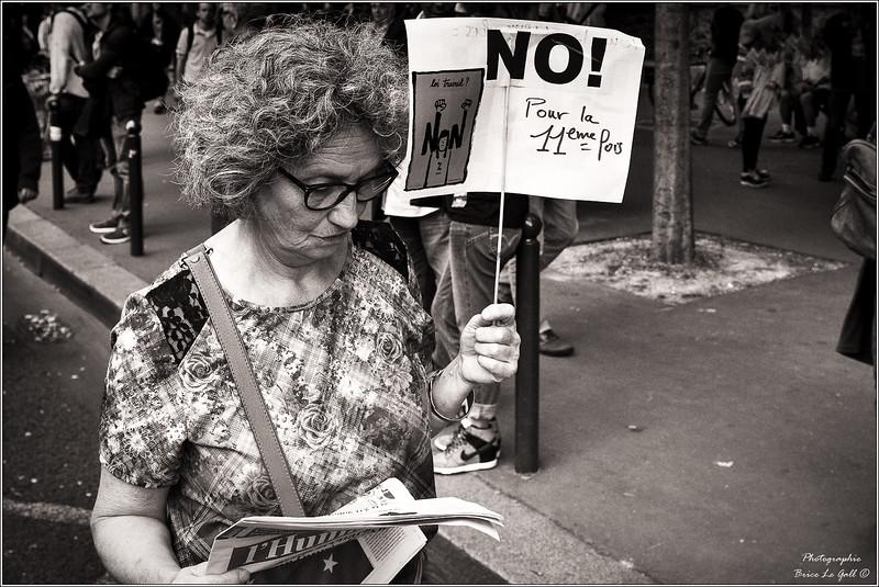 Manifestation contre la loi El Khomri. Paris, 28 juin 2016.