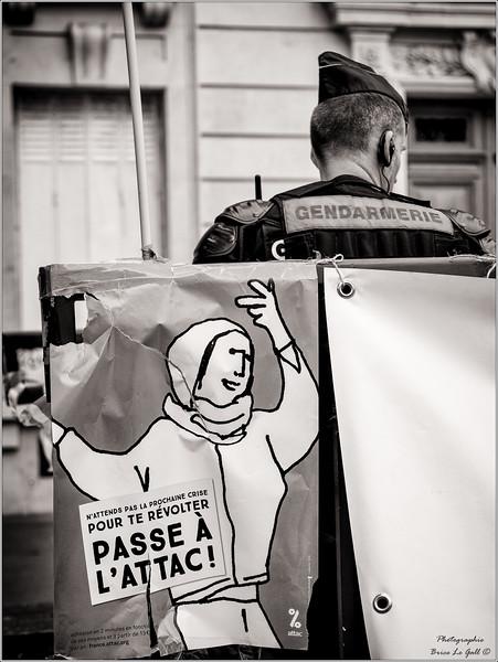 Manifestation contre la loi El Khomri. Paris, 14 juin 2016.