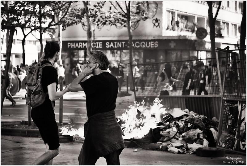 Mobilisation contre la sélection à l'Université. Paris, 2018.