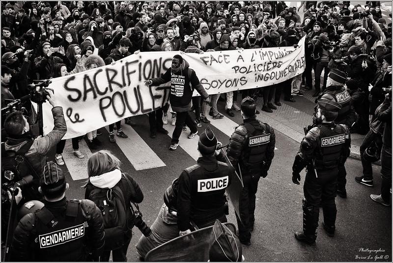 Marche pour la Justice et la Dignité. Paris, 19 mars 2017.