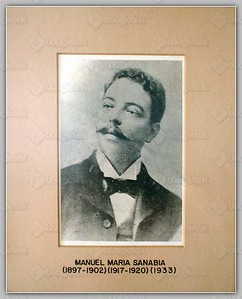 (1897-1902)(1917-1920)(1933) Manuel Maria Sanabia
