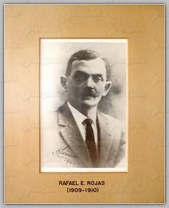 (1909-1910) Rafael E  Rojas