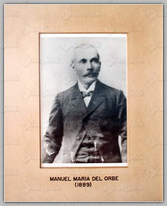 (1889) Manuel Maria del Orbe