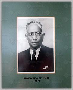(1926) Gumercindo Belliard