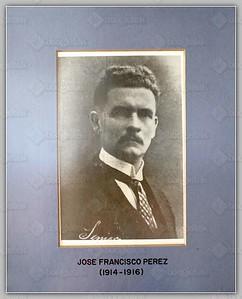 (1914-1916) Jose Francisco Perez
