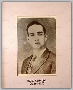(1921-1923) Angel Cernuda