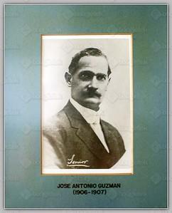 (1906-1907) Jose Antonio Guzman