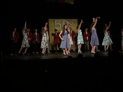 Sixth grade students from Fancher Elementary School along with alumni performed their annual mock rock on Friday, March 10, 2017 at Plachta Auditorium inside of Warriner Hall on the campus of Central Michigan University.