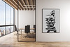 Modern,Meeting,Room,Interior,With,Empty,Banner,On,Concrete,Wall,