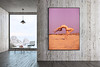 Modern,Concrete,Living,Room,Interior,With,Panoramic,Landscape,View,,Furniture