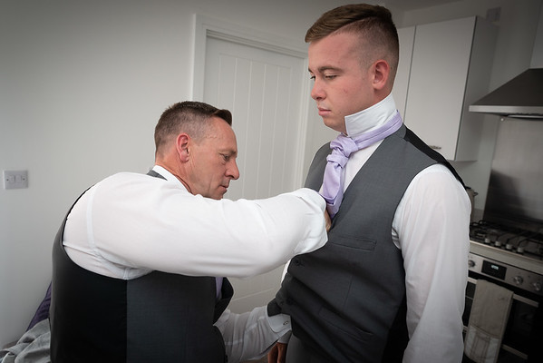Getting the cravat just right