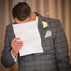 Now it's the groom's turn