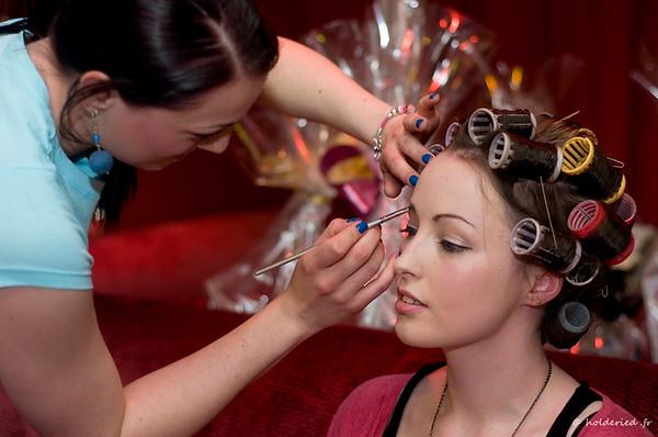 Maquillage pour défilé de mode