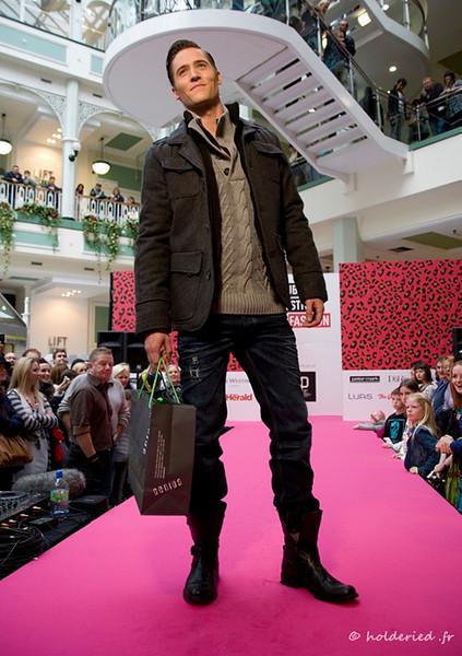 Défilé mode homme