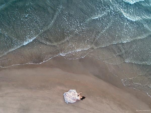 Photo de mode par drone