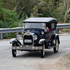 Rob Krud & Sandra White negotiating the bend in their Phaeton