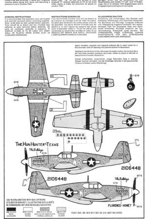 N.A. P-51B Mustang,  Airfix
