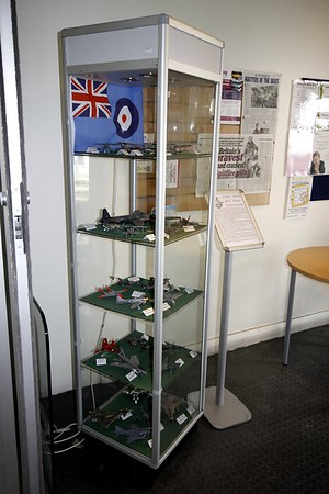 RAF 100th Anniversary display