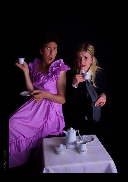 "He: ""But you know what I heard... he hates tea! Imagine!"""