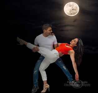 dance under the moon