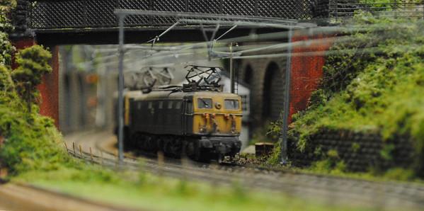 Railex 2012 Mini MSW a couple of Class 76 on a coal train