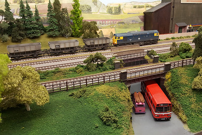 Bradford Model Railway Club's 'Reevy Road West' layout