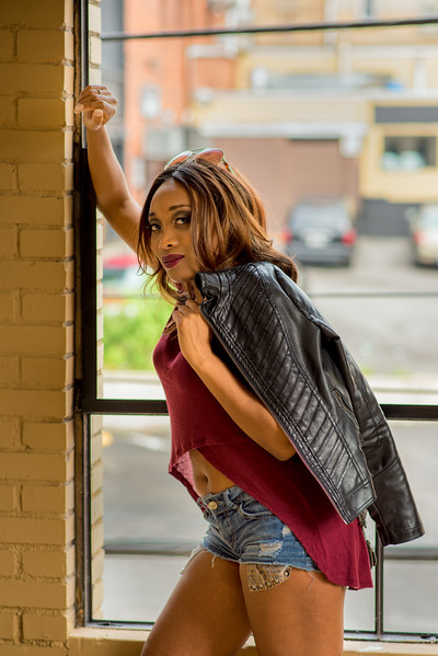79PMC Model Shoot<br /> Model: Crystina Sowell<br /> Morgantown, WV