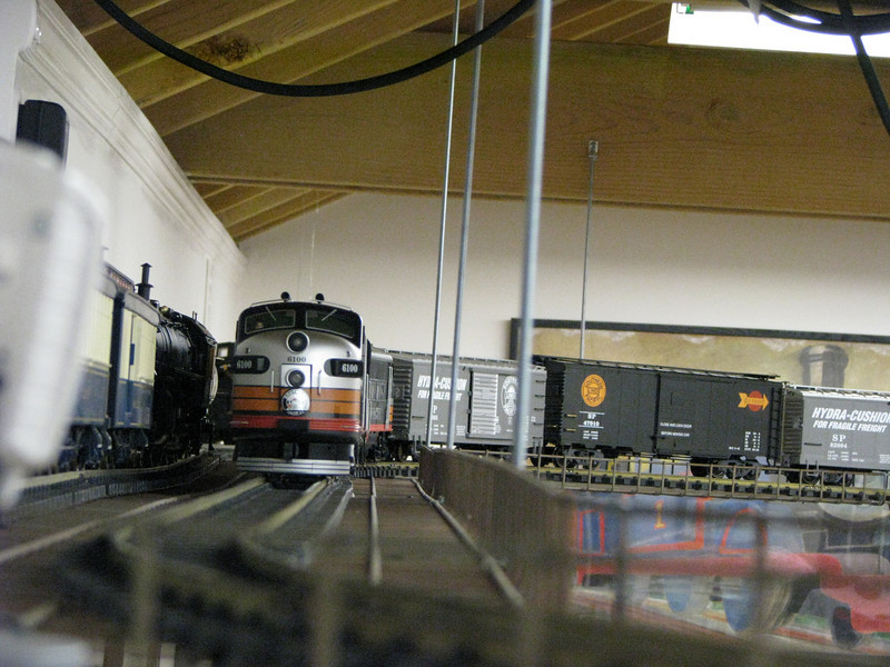 """Train Cam"" captures approaching freight from ground-level view."