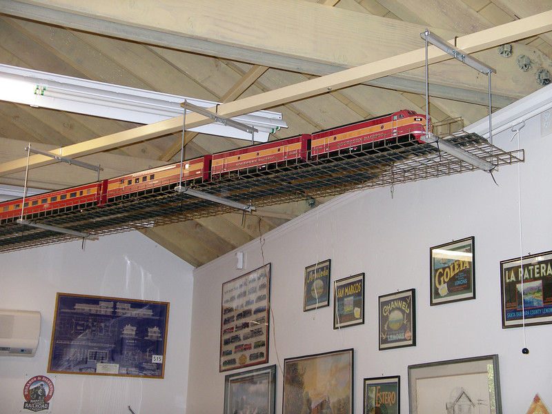 On June 17, 2008, a static display of a 15-foot-long segment of the Daylight Train was completed.