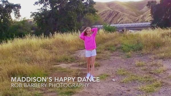 Maddison's Happy Dance
