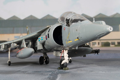 1-48 scale Harrier GR9 (1)