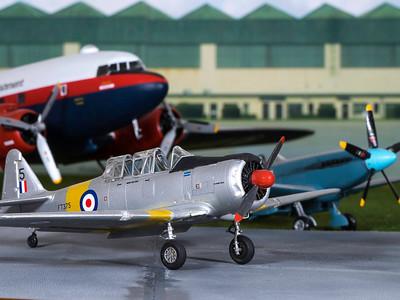 1-48 scale RAF Harvard trainer  (16)
