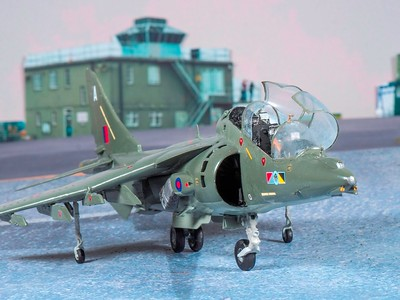 1-48 scale Harrier T7 renovation  (39)