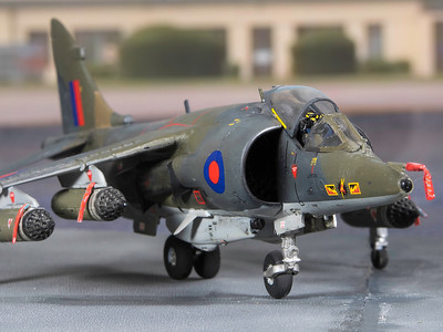 1-48 scale Harrier GR3 (1)