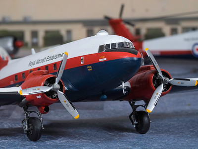 1-48 scale DC3  (4)