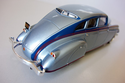 IXO Museum 1:43 1933 Pierce Silver Arrow