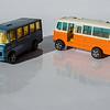 Corgi Juniors Mercedes-Benz Bus and Duple Vista 25 Coach