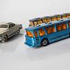 Dinky VW Karmann Ghia and Dinky Viceroy 37 Coach x 2