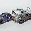 Hot Wheels Custom Volkswagen. Custom Eldorado, Ford J-Car