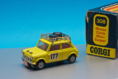 Large Corgi Monte Carlo Rally Mini Cooper