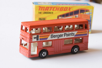 Matchbox – The Londoner (Berger Paints)