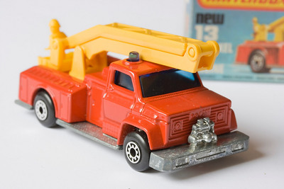 Matchbox 13 – Snorkel Fire Engine