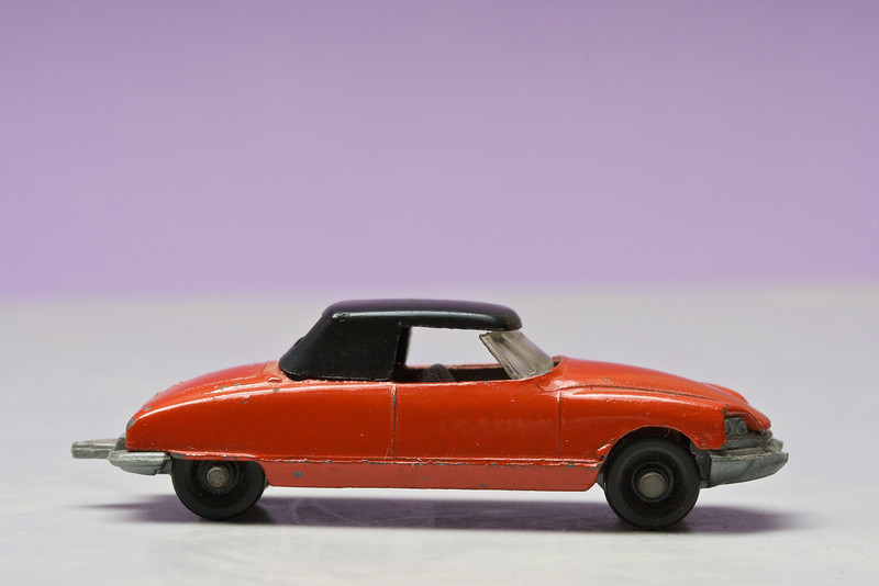 Tiny Citroën DS convertible from TufTots